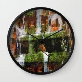 Waterfalls in the Clocktower Wall Clock