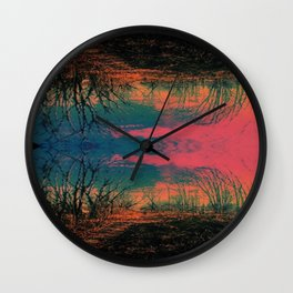 in a world of my own Wall Clock