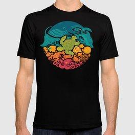 Aquatic Rainbow T-shirt