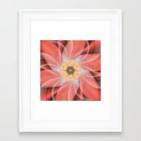 cherry blossom Framed Art Prints featuring Cherry Blossom by Christine baessler