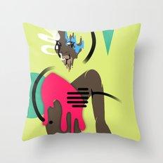 Abstract Afrika Throw Pillow