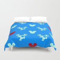 mickey Duvet Covers featuring MICKEY MOUSE by Acus