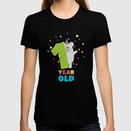 One Year first Birthday Party T-Shirt Dqk1q T-shirt