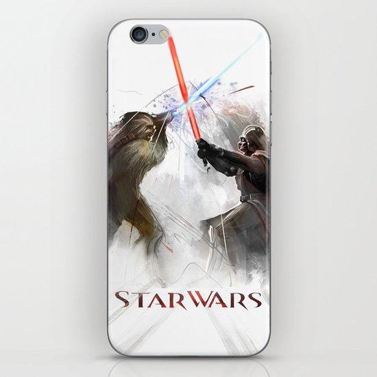 Star wars duel  iPhone & iPod Skin