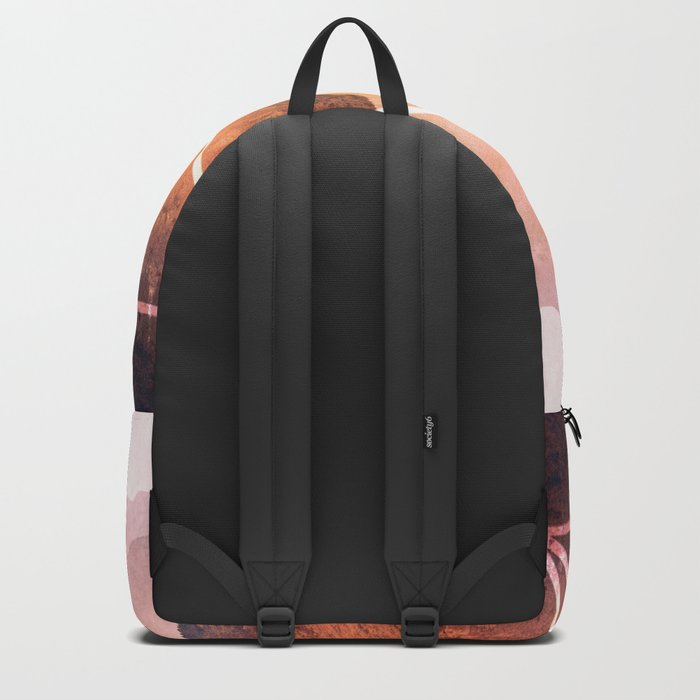 The Elements Geometric Nature Element of Fire Backpack