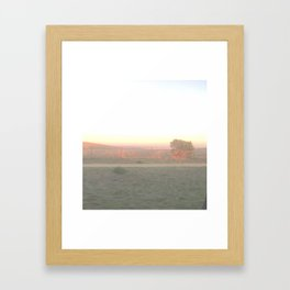 View of the Pacific - West side of Santa Cruz Framed Art Print