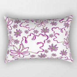 Floral print 1620 Rectangular Pillow