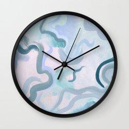 Suave curves Wall Clock