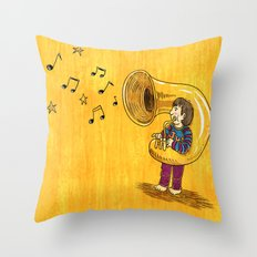 The Dream Of My Childhood Throw Pillow