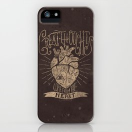 Great Thoughts iPhone Case