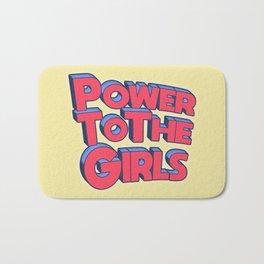 Power To The Girls Bath Mat