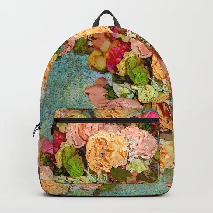 ROSES SO ROMANTIC Backpack