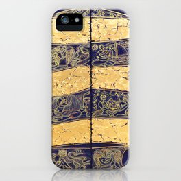 THE NATURE OF RELATIONSHIP. DIPTYCH iPhone Case