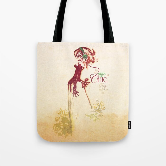 Geek so chic 2 Tote Bag