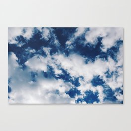 Skies of Blue Canvas Print