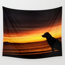 Best Friend Good Mornings Wall Tapestry