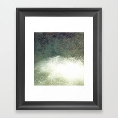 Wired down Framed Art Print