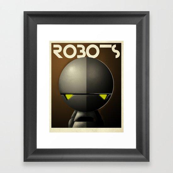 Robots - Marvin Framed Art Print