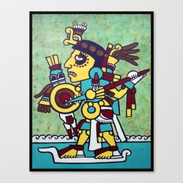 Mixtec Warrior Canvas Print