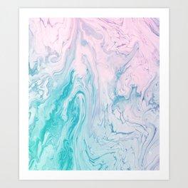 Marble No. 17 Art Print