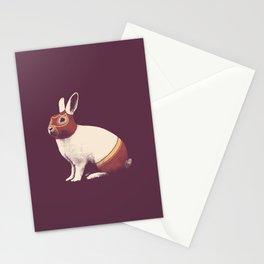 Lapin Catcheur (Rabbit Wrestler) Stationery Cards