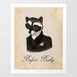 Bufort Bixby Art Print