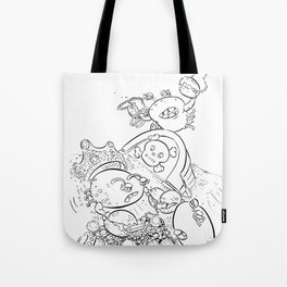 Buried Treasure - ink Tote Bag