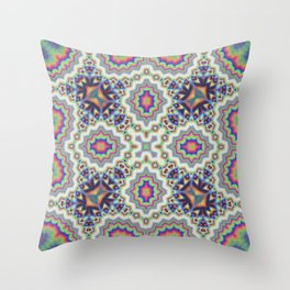 Ethereum Mosaic No1 Throw Pillow