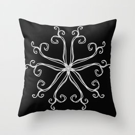 Five Pointed Star Series #10 Throw Pillow