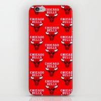chicago bulls iPhone & iPod Skins featuring Bulls Bulls Bulls by Art by Ken