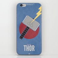thor iPhone & iPod Skins featuring Thor by Steal This Art