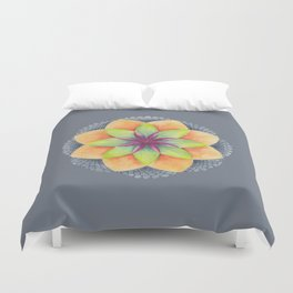 Flower Mandala 2 Duvet Cover