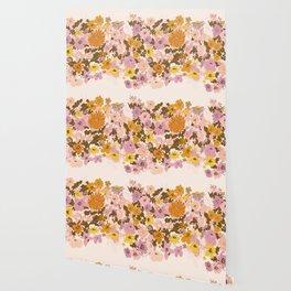 vintage wildflowers Wallpaper