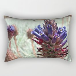 Purple  Flower  Spikes Rectangular Pillow