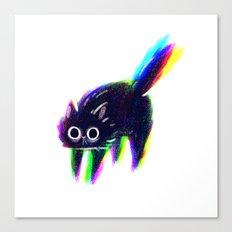 Inter-dimensional Cat Canvas Print
