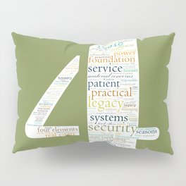 Life Path 4 (color background) Pillow Sham