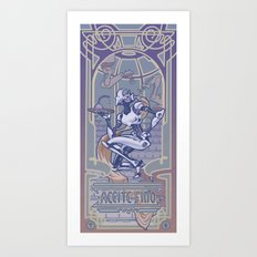 Aceite Fino Art Print