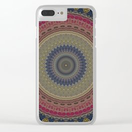 Recreational Maylanta Mandala 85 Clear iPhone Case