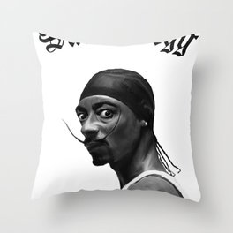 Salva Dogg Throw Pillow