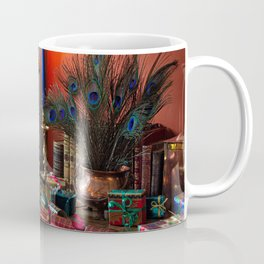 Image New year Candy Champagne present Feathers Fo Coffee Mug