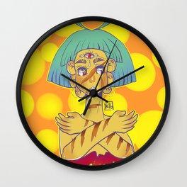 you can heal Wall Clock