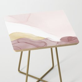 Dream Collection _ Burgundy Side Table