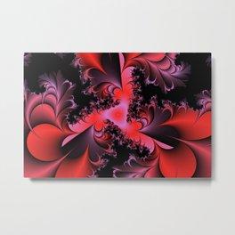 Red Symphony Metal Print