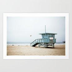 The Beach III Art Print