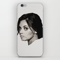 miles davis iPhone & iPod Skins featuring Miles by NFNTYgraphics
