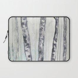 Birch landscape Laptop Sleeve