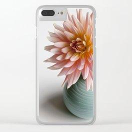 Dahlia Bellelaine Clear iPhone Case