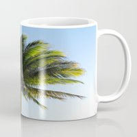 palm Mugs featuring Palm by Percival