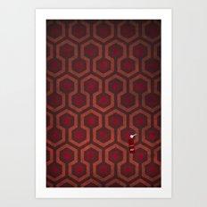 the Shining Rug & Room 237 Art Print