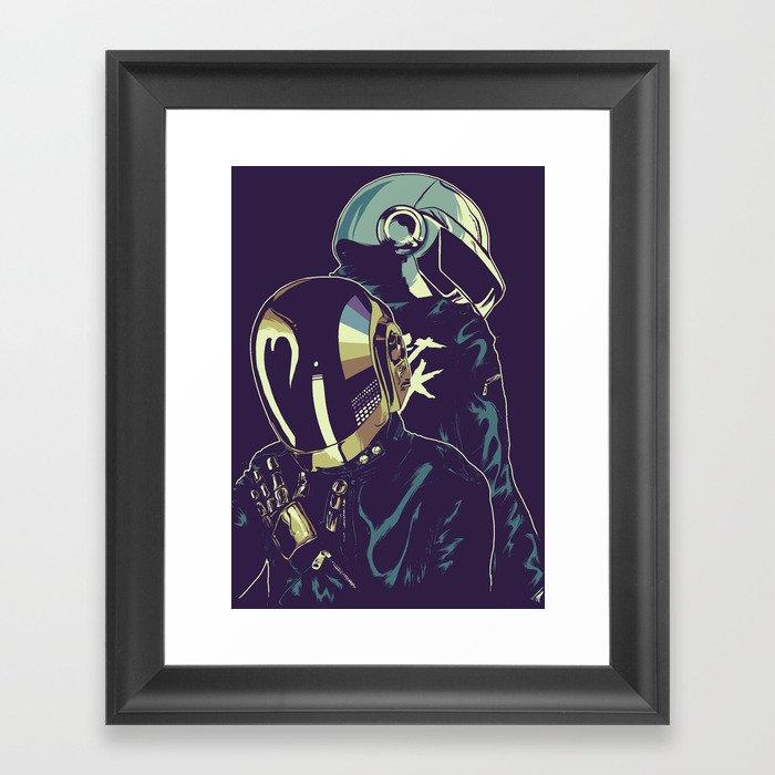 Daft Punk Gerahmter Kunstdruck